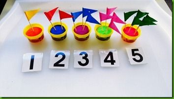 Counting with flags