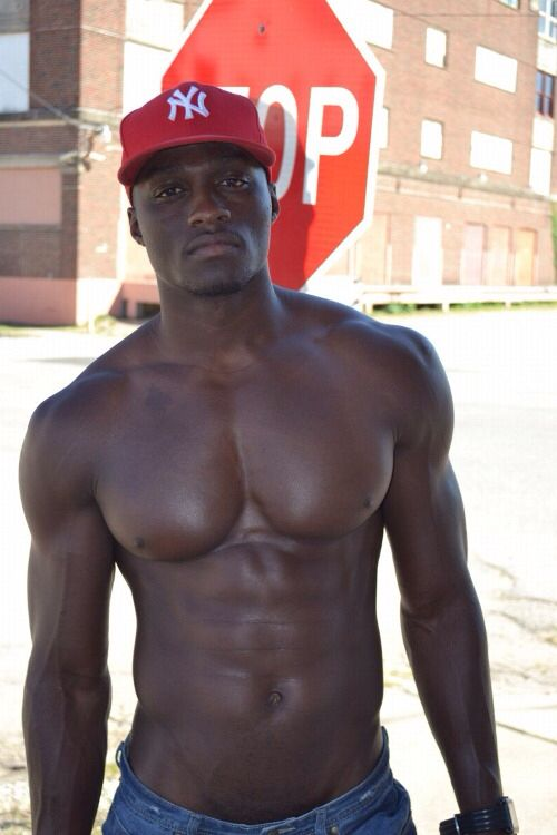 Very sexy dark skinned men naked