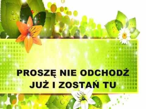 Śpiewaj ze mną Karaoke Alexmar Dla ciebie tekst i wokal Aleksandra Pławi...