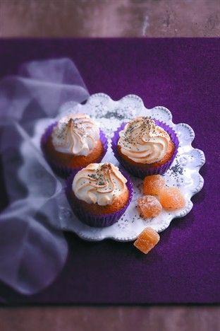 Cupcakes au pavot et au gingembre Livre : Cupcakes - Corinne Jausserand Ed. Larousse Cuisine