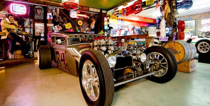 Decorating Ideas > 17 Best Images About Garage Ideas On Pinterest  Auto Body  ~ 065649_Hot Rod Garage Decorating Ideas