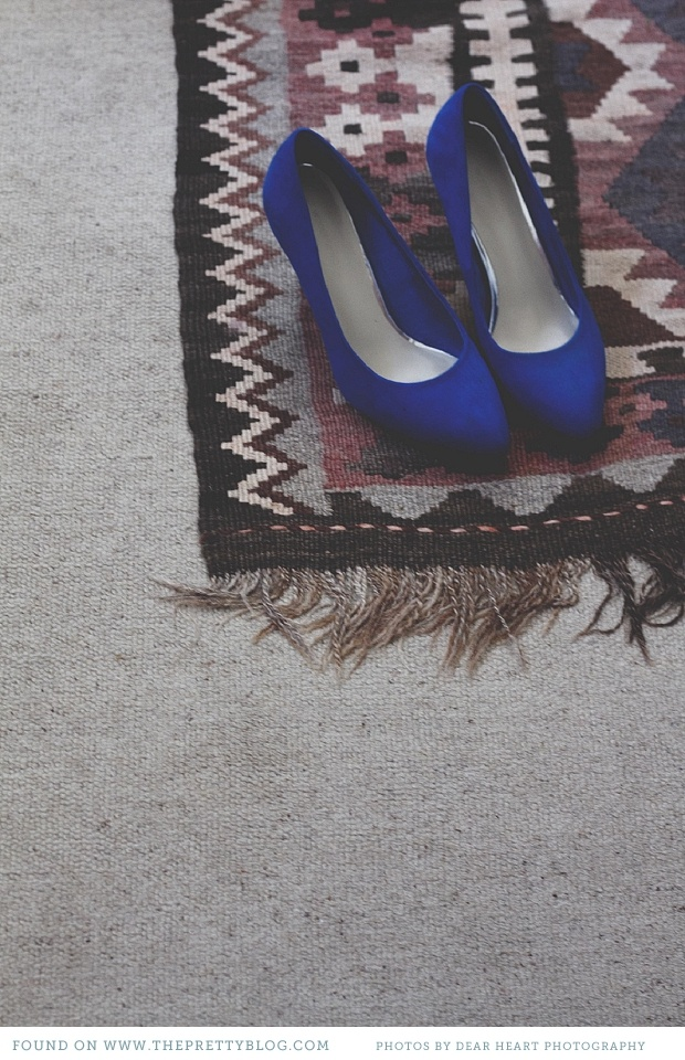 Royal blue... there's something lovely about this photo