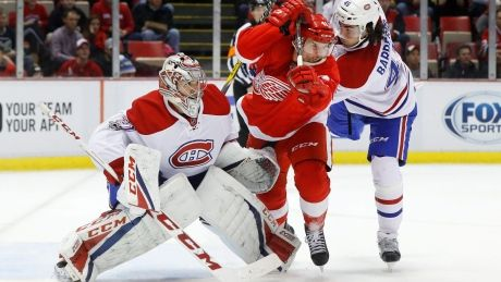 Detroit's Jared Coreau out-duels Montreal's Carey Price in Motown matinee