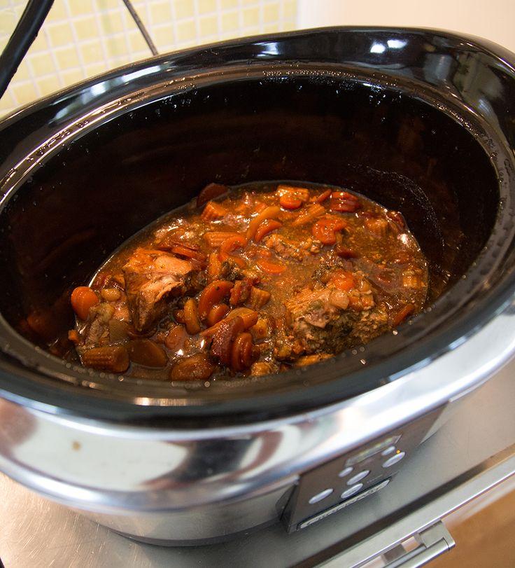 Kyckling teriyaki i crock pot, 5 minuters förberedelsetid. Snabbast hittills!