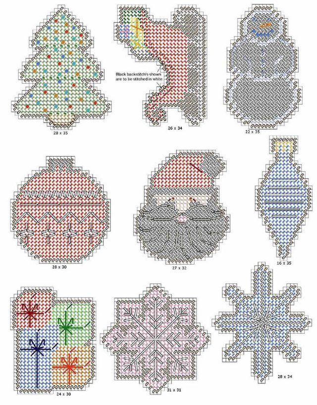 Selective image throughout free printable plastic canvas christmas patterns