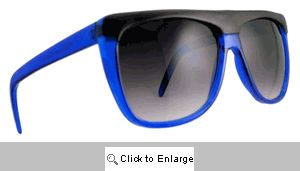 Cruiser Straight Bridge Sunglasses - 242 Blue