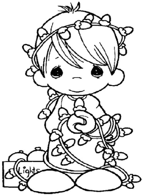 p moments coloring pages christmas - photo#9