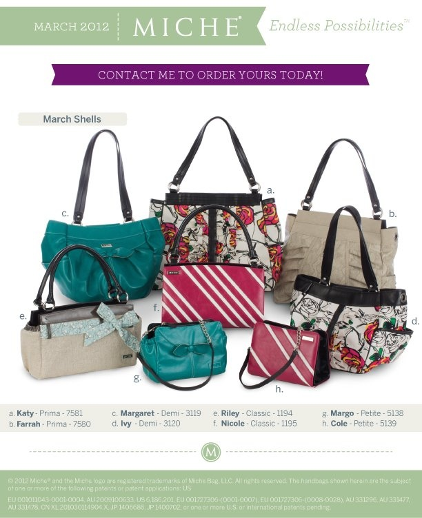 You can order on line and have it delivered to your door anywhere in the USA!!   uniquelyyours.miche.com/Home