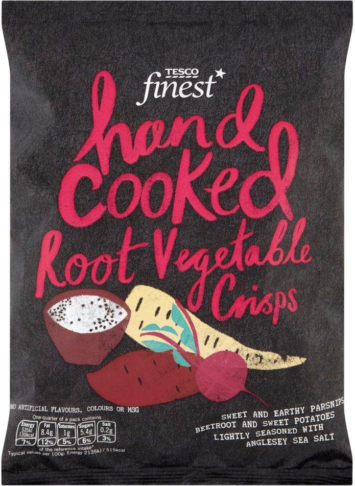 Buy Tesco Finest Hand Cooked Root Vegetable Crisps (100g) online in Tesco at mySupermarket