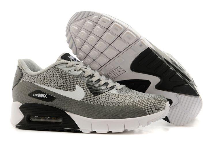 Air Max 90 Buitensport Sneakers Donker grijs/zwart