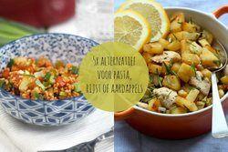 5x een alternatief voor pasta, rijst of aardappels