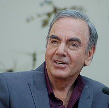 Neil Diamond - Wikipedia, the free encyclopedia Diamond at a ceremony to receive a star on the Hollywood Walk of Fame in August 2012