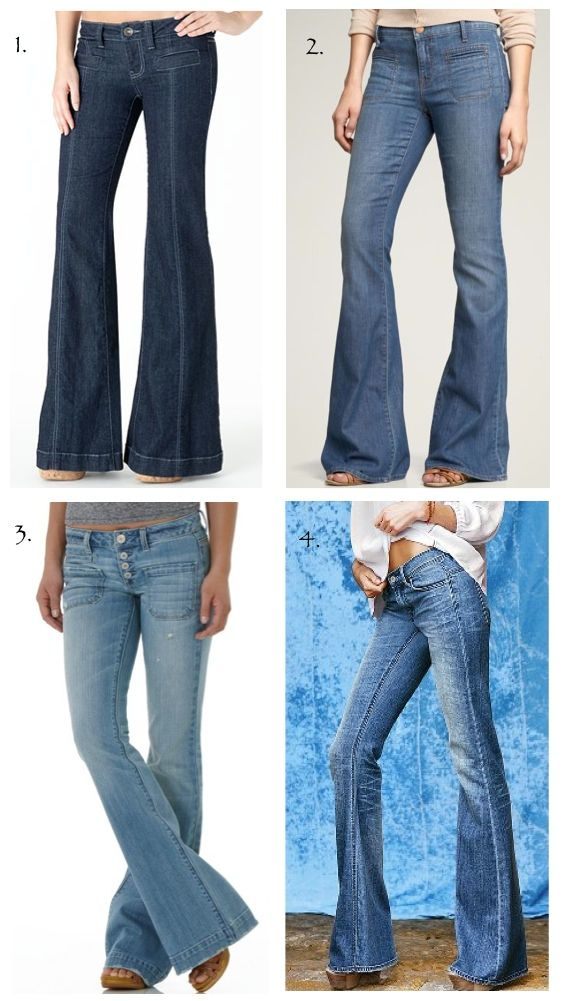 114497 best flared jeans images on Pinterest | Flare jeans, Flare ...