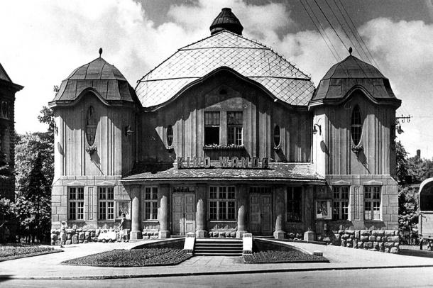 Wanda Cinema, Bielsko-Biała, Poland.