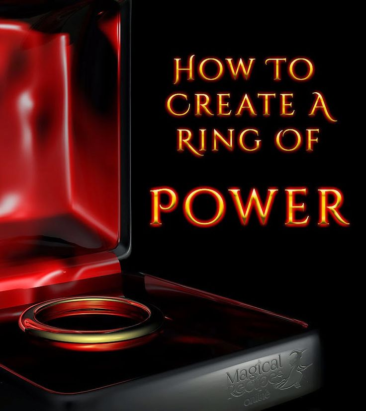 Tools of the Craft The Magic Ring how to create and use a ring of Power
