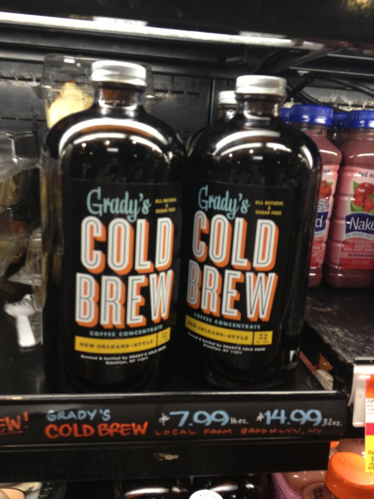 how to sell cold brew coffee