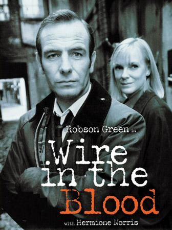 Wire In The Blood:  2002-2008  -   Stars: Robson Green, Mark Letheren, Emma Handy. -  A psychologist gets inside of the minds of both killers and victims to aid the police in solving gruesome serial killings in Northern England.  -  CRIME / DRAMA / MYSTERY