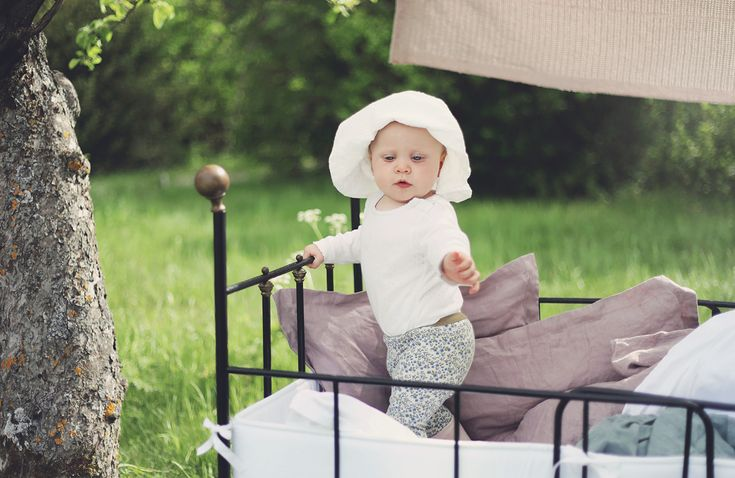 NG baby linnelakan barn bebis ekologiska sängkläder påslakanset järnsäng vintage täcke kudde GOTS
