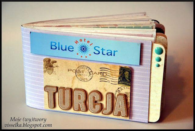 Moje (wy)twory: Album z kopert - Turcja.