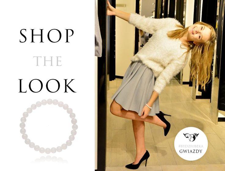 """Julka Wróblewska ponownie w naszej bransoletce z kolekcji """"Make Me Happy"""" <3 #bydziubeka #jewellery #jewelry #fashion #style #look #ootd #celebrity #stars"""