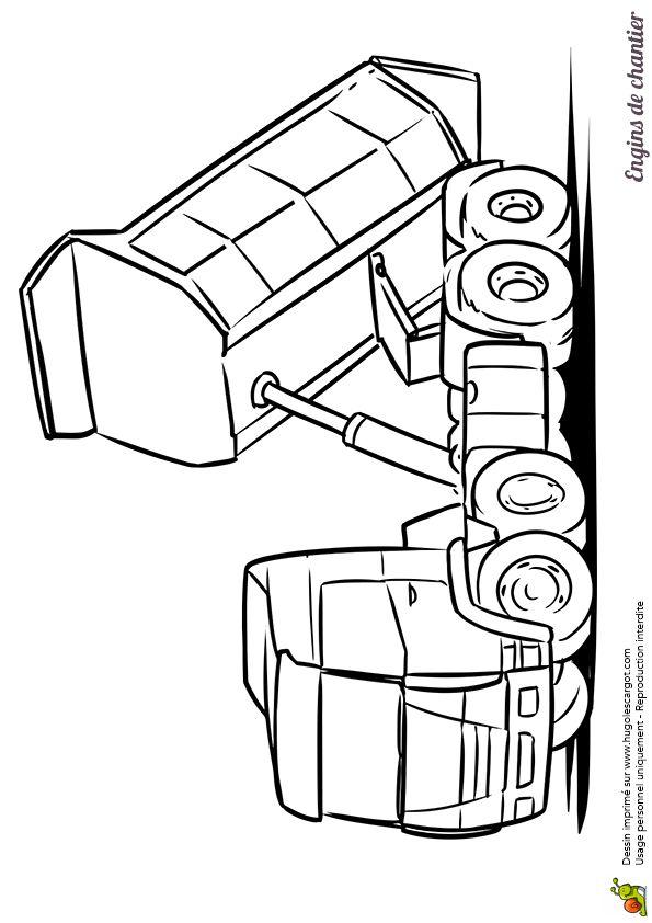 Bien-aimé Plus de 25 idées uniques dans la catégorie Coloriage camion sur  TW47