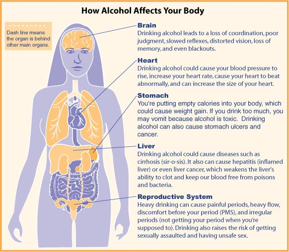 How Alcohol Affects the Body! #alcohol #abuse http://www.satoriwaters.com/