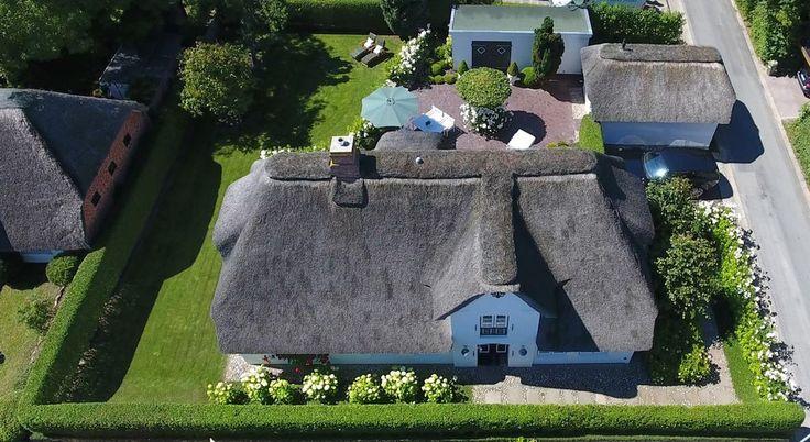 hist. 5 Sterne Reethaus v 1799 auf Wyk auf Föhr: 3 Schlafzimmer, für bis zu 6 Personen. Sehr exklusiv freistehendes Refugium für Wohngenießer Wyk/Föhr kostenloses WLAN   FeWo-direkt