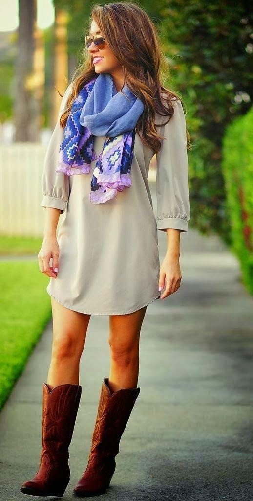 Adorable Grey Dress