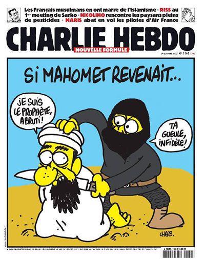 Hvis Muhammed genopstod. Jeg er profeten, røvhul! Hold mund, utro!