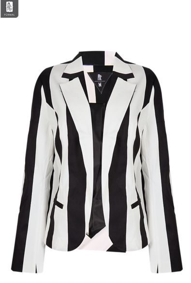 """June - """"a must have"""" item for my wardrobe. Striped black and white Blazer #fashion #MrPrice #MonthlyFavourites"""