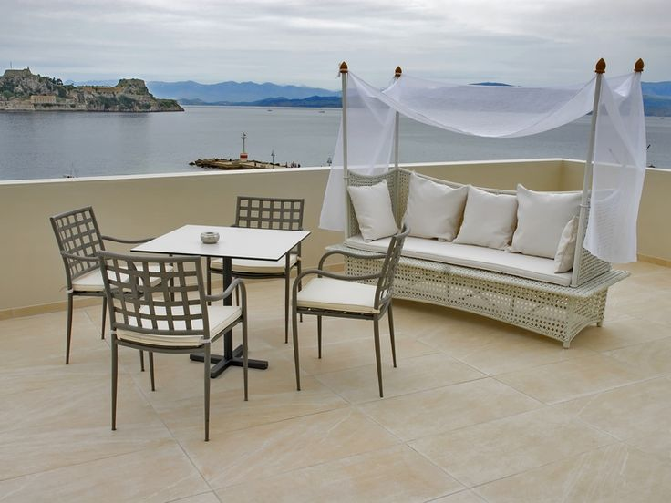 Relaxing area in the Aquis Mon Repos Hotel. #Greece #Corfu
