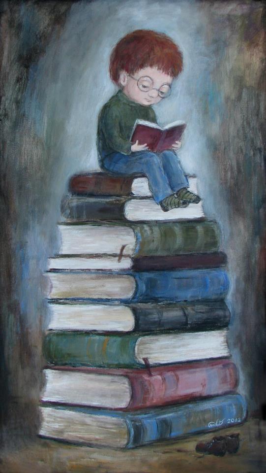 Bookworm. Nino Chakvetadze's Art
