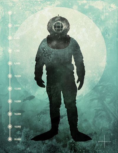 Under The Sea  by Chase Kunz: Graphic Design, Style, Sea Art, Illustration, Art Prints, Poster, Under The Sea, Products