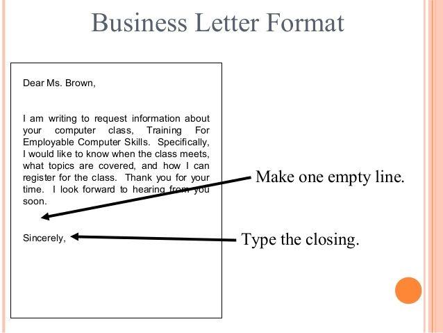 winning numbers may communication skills business letters letter - business letters pdf