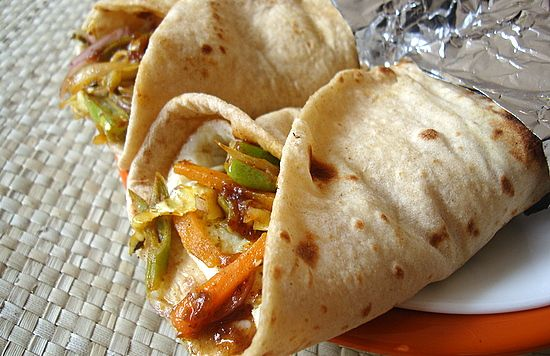 Vegetable Kati Roll is an easy Indian food recipe prepared with whole wheat rotis and mixed vegetable filling. Makes for a tasty appetizer or lunch box treat.