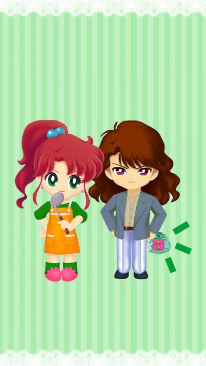 Kino Makoto & Sanjouin Masato (Nephrite) (Sailor Moon Drops)