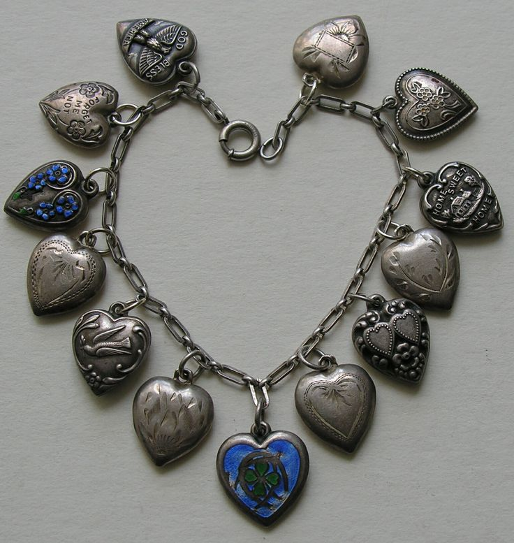 nike outlets in fort worth texas Enameled Lucky Symbol Thirteen Heart Sterling Bracelet jpg JPG  1535  1622    I am not charming but my taste in            Heart Charm  Charm Bracelets