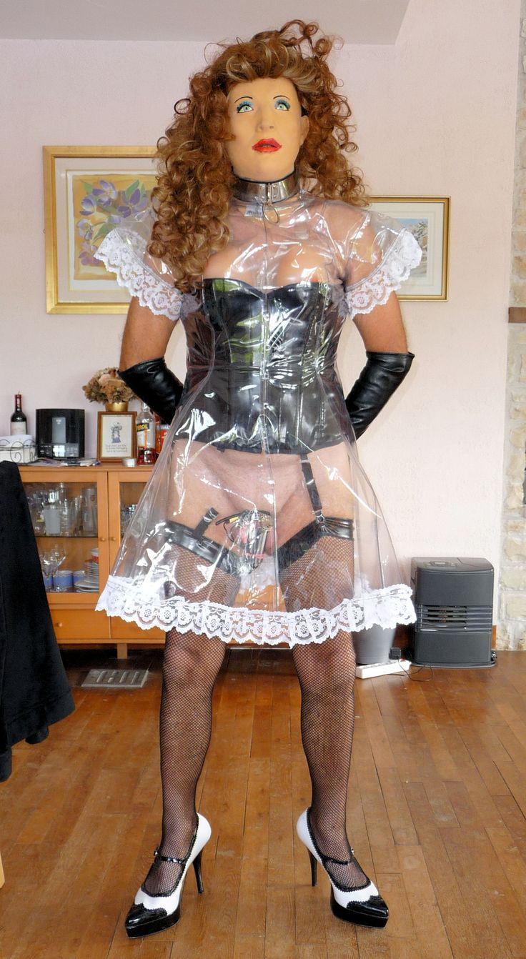 Misfitz maid's dress worn back to front:-)