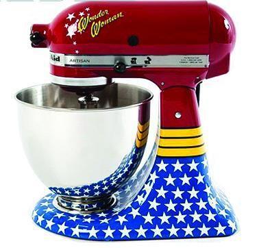 Wonder Woman KitchenAid Mixer