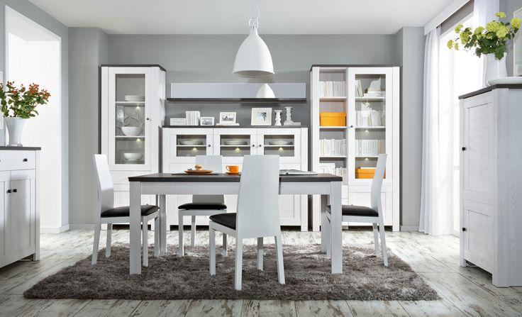 Black Red White - Meble i dodatki do pokoju, sypialni, jadalni i kuchni - Inspiracje #nowoczesne #new #meble #furniture #ideas #inspiration #pomysł #jadalnia #modern #interior