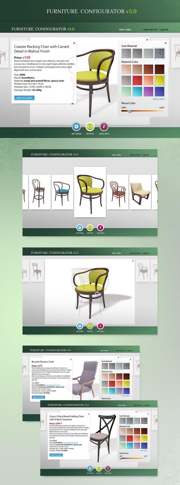 furniture configurator full preview