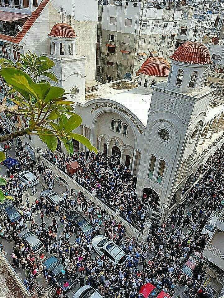 News From Syria — Happy Palm Sunday from Syria   Picture taken on...