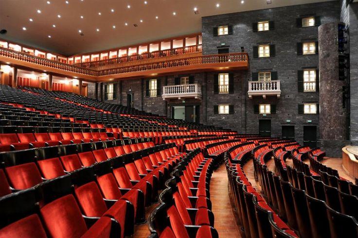 Teatro Carlo Felice  Genova Interno