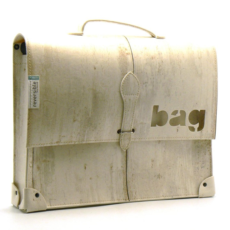 A Simil Wood Briefcase? Why Not! Made From Natural Linoleum Floors, The  Sakavip