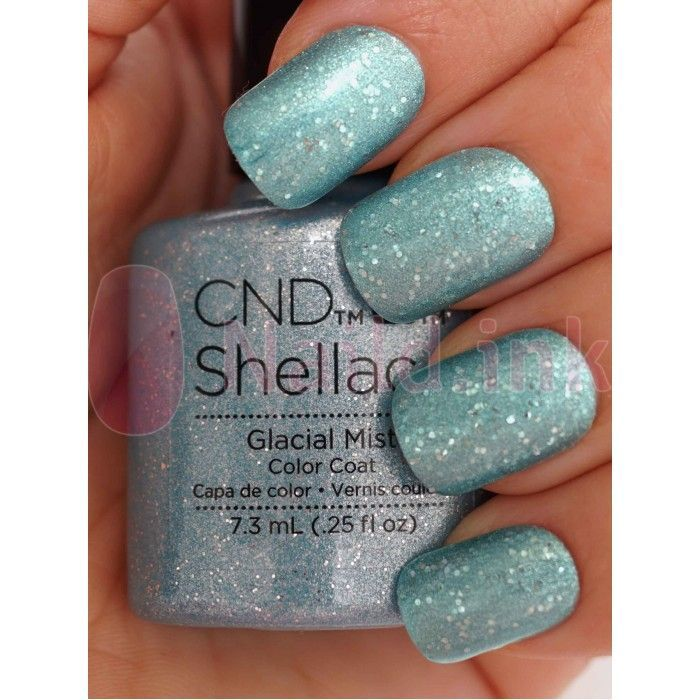 glacial mist shellac | CND Shellac - Aurora Collection - Salon Supply Store