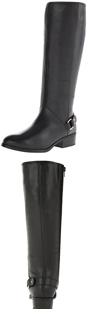 Lauren Ralph Lauren Womens Micaela Riding Boot: At first I felt like these were a little big, but I think really I have small calves. I'm petite, 5'4 112 lbs and for me there is some calf gap. But it lets my legs breath which is nice, and some leg warmers would fill it. They're very comfy through a 10 hour work day. Very happy with them.Side note, the post office jacked up the delivery. #Shoes
