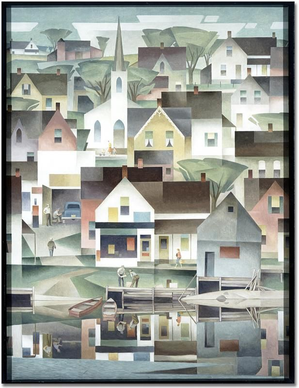 AJ Casson,  Group of Seven member  -  Untitled