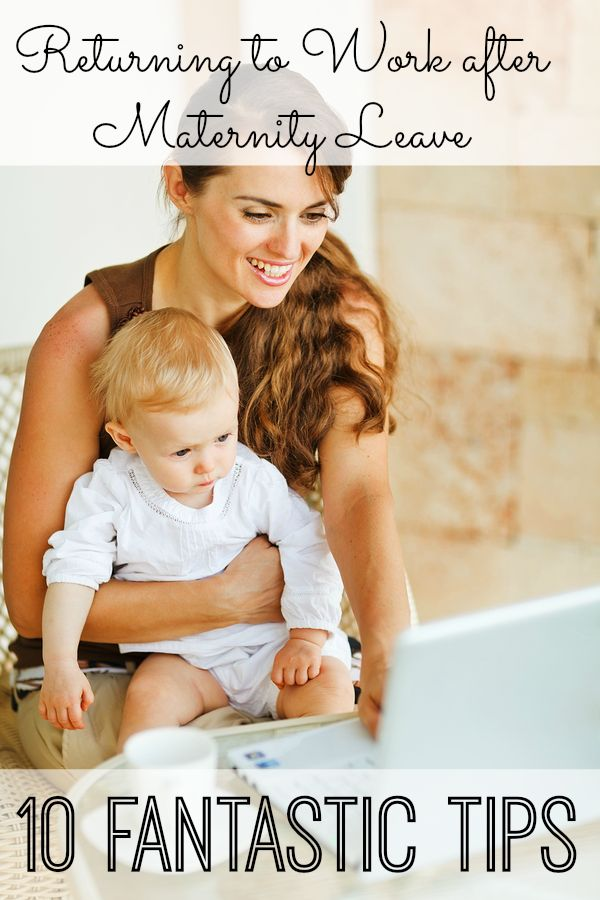 Make the transition of going back to work after having a baby easier with these tips from a fellow mom.