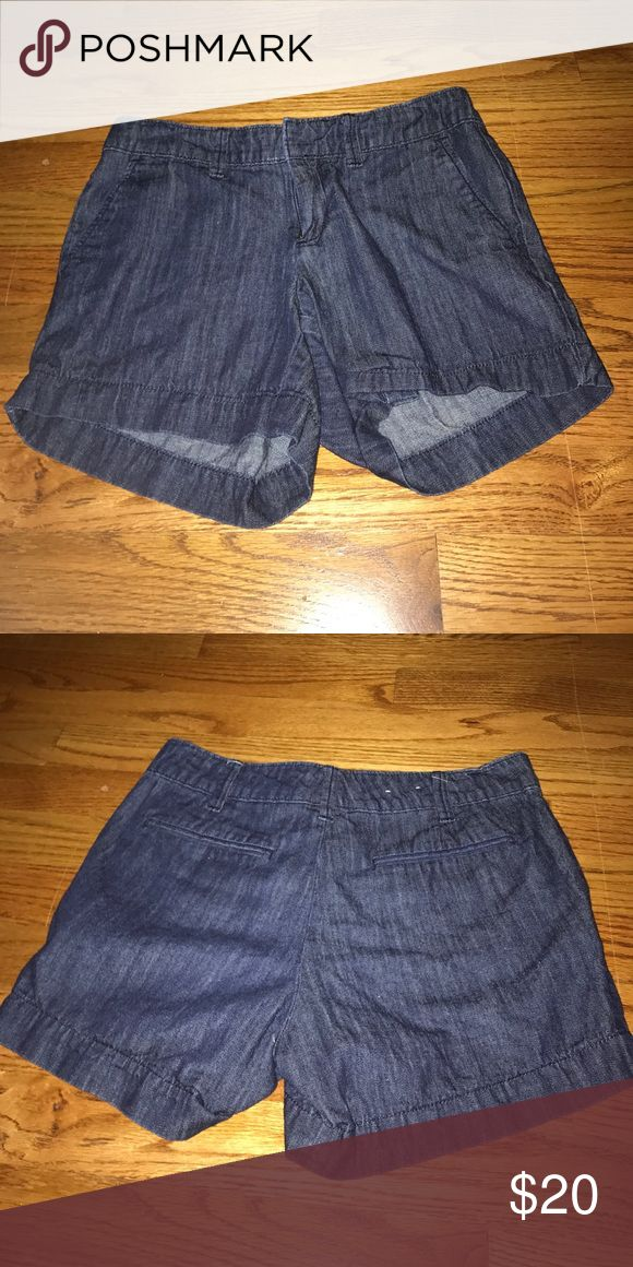 jean shorts size 0 Gap Outlet shorts. worn a couple of times. fits well. GAP Shorts Jean Shorts