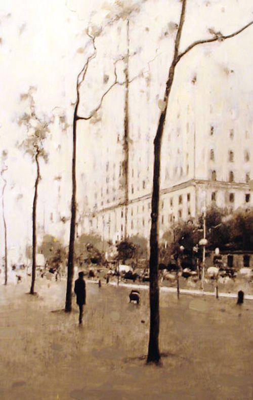 Geoffrey Johnson. Pintura  At 82nd Street